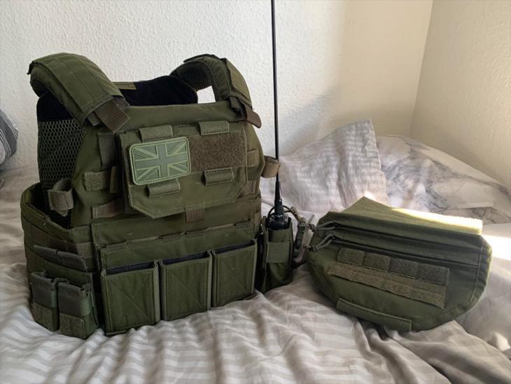 Bild för varan: [SOLD] Warrior DCS in OD Green full loadout