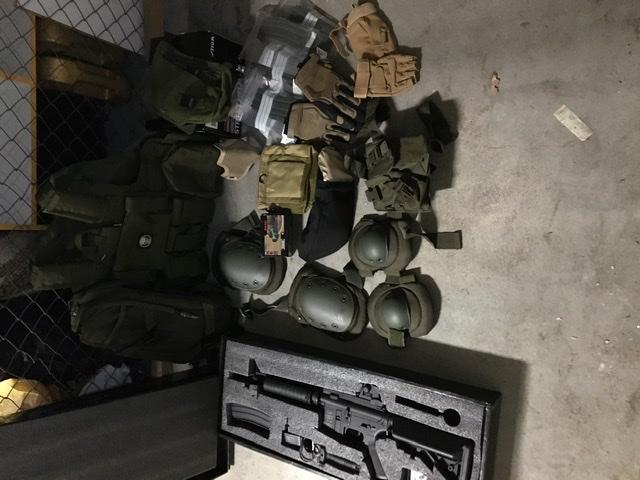 All airsoft prylar