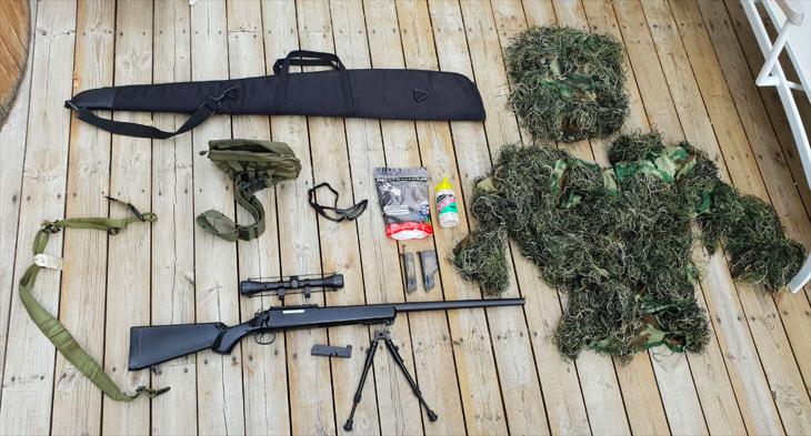 Bild för varan: sniper CM.701B med fullt kit!
