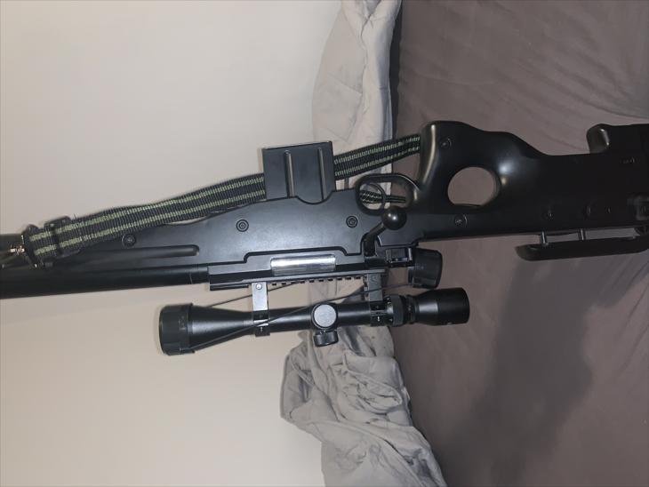 Bild för varan: WELL L96 AWP SNIPER RIFLE SET BLACK