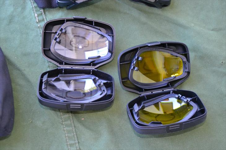 ESS Advancer V12 protective goggles set