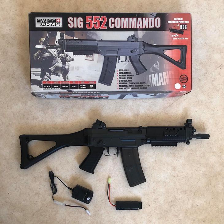 Bild för varan: SIG 552 COMMANDO