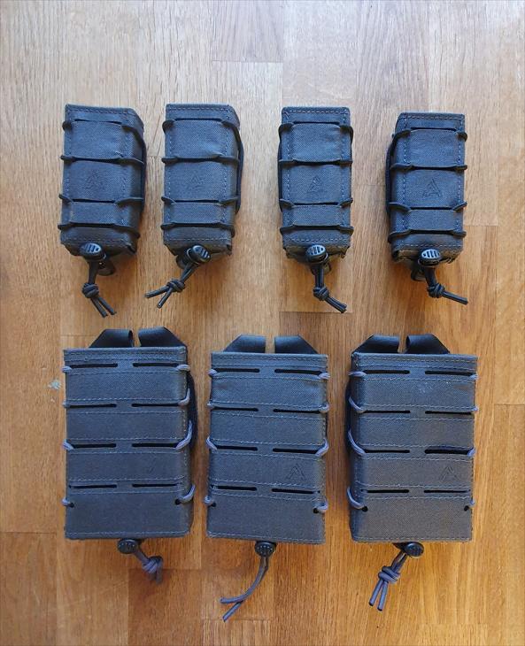 Bild för varan: Säljes oanvända M4/9mm fickor