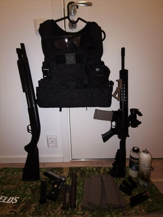 Bild för varan: M4a Reddot gbb allt ska bort