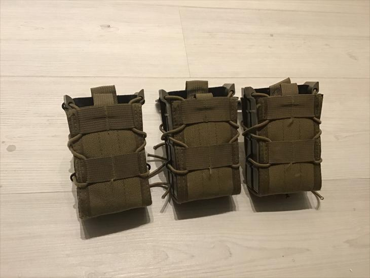 HSGI Molle Taco X2R Coyote brown