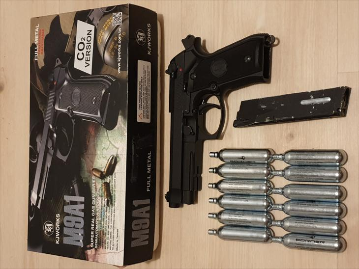 M9A1 C02 blowback Pistol