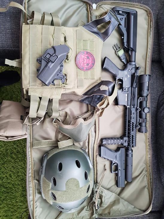 Bild för varan: M15 Devil CQB 7 + utrustning
