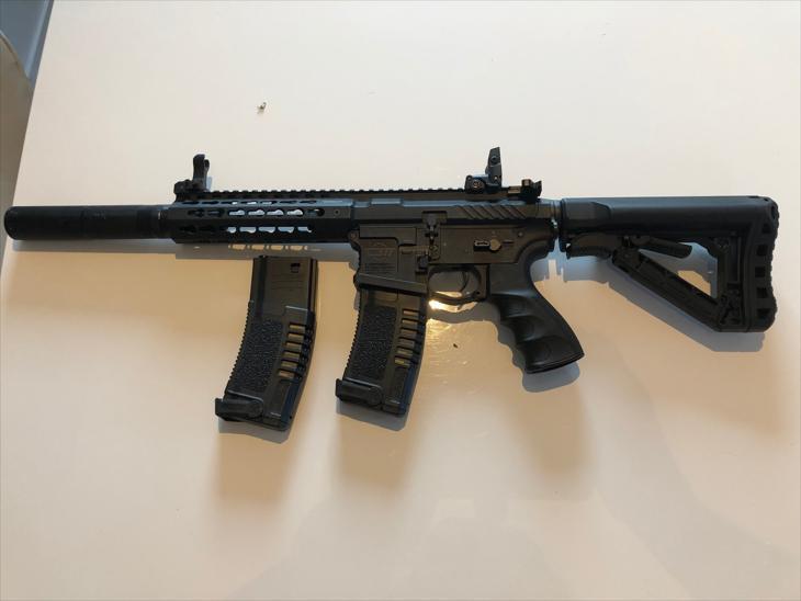 Bild för varan: G&G CM16 SRL +Swiss Arms Silencer