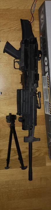 CA M249  OBS trasig stock