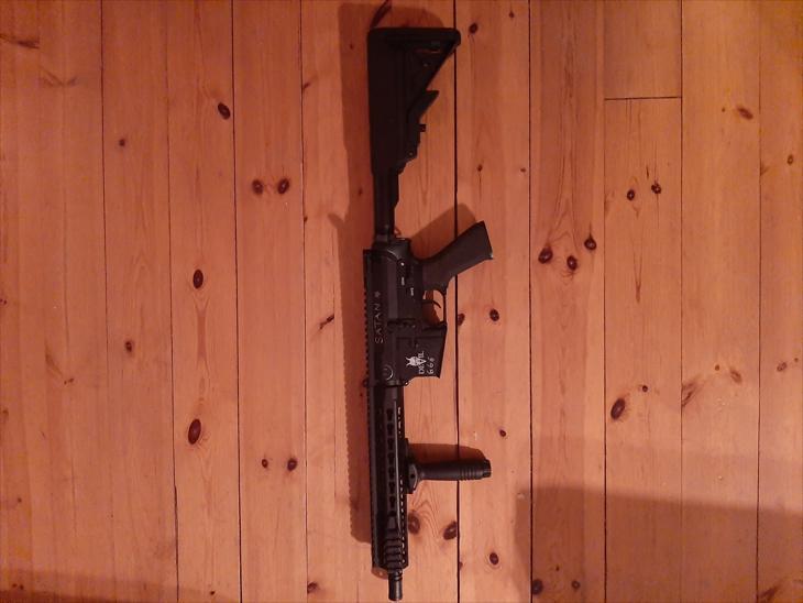 Bild för varan: M4 i devil serien med laddare, batteri och magasin
