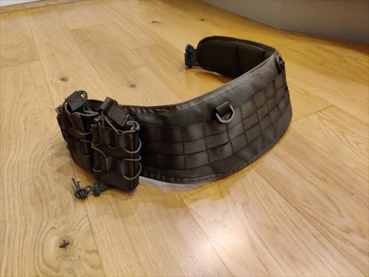 Bild för varan: Invadergear bälte NY och 2 fast mag pouch