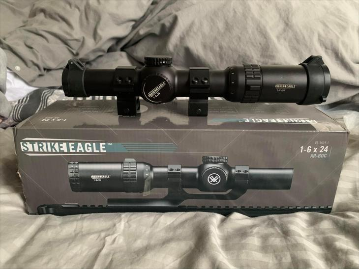 [SOLD] Vortex Strike Eagle 1-6x Shortdot