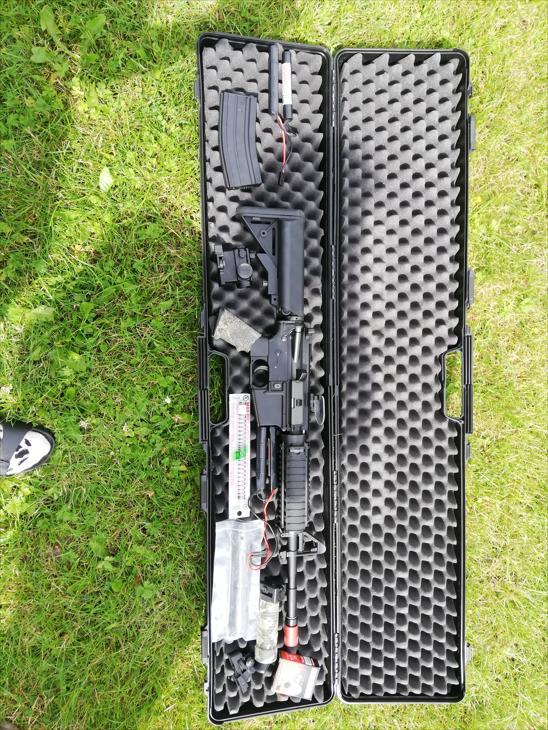 Bild för varan: Softairgun GoG M4A1