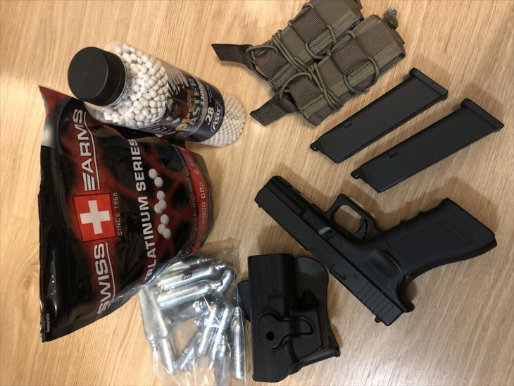 Bild för varan: Umarex Glock 17, G4 1,3 J