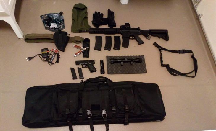 Bild för varan: Vapen väska mycket utrymme