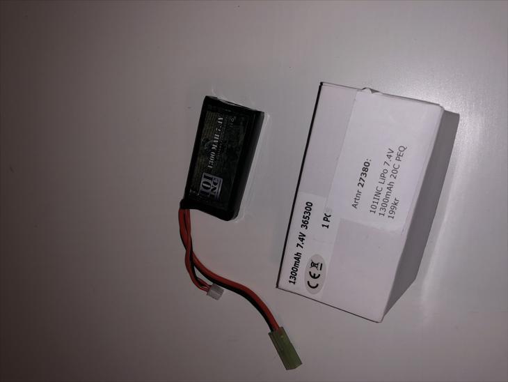 Bild för varan: Batteri 1300mAh