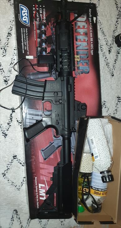 Bild för varan: ASG LMT Defender R I S M4