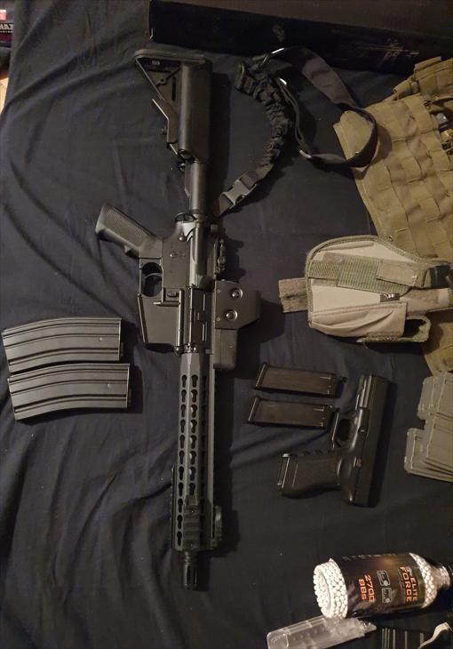 Bild för varan: Helt ny M4A1 och mer säljes
