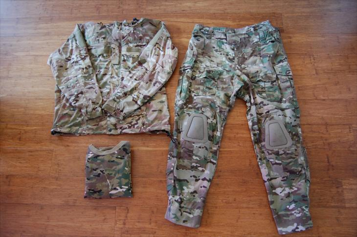 Multicamo uniform