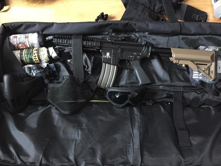 Bild för varan: 2 rifle bags med allt du behöver,