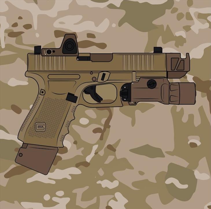 Bild för varan: Sökes defekta pistoler