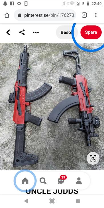 Bild för varan: Köper AK 47 Vapen och delar