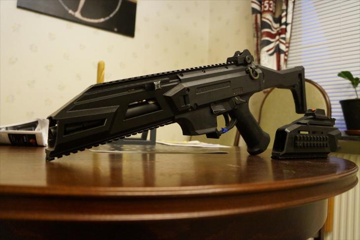 Bild för varan: Custom handguard ASG Scorpion Evo A1