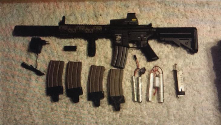 Airsoft AEG M4 Specma ARMS Full metal