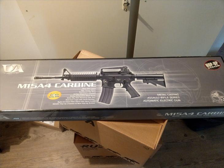 Bild för varan: M15A4 Carbine med diverse tillbehör