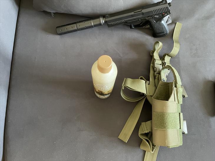 Bild för varan: Sniper/pistol/kläder
