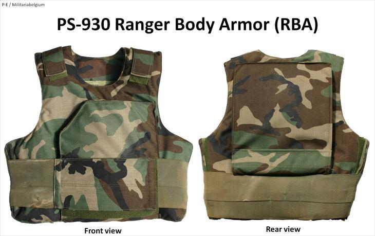 Bild för varan: SÖKES Ranger Body Armour Woodland
