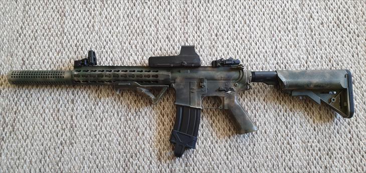 Bild för varan: Cybergun Colt M4A1 CQB Trim