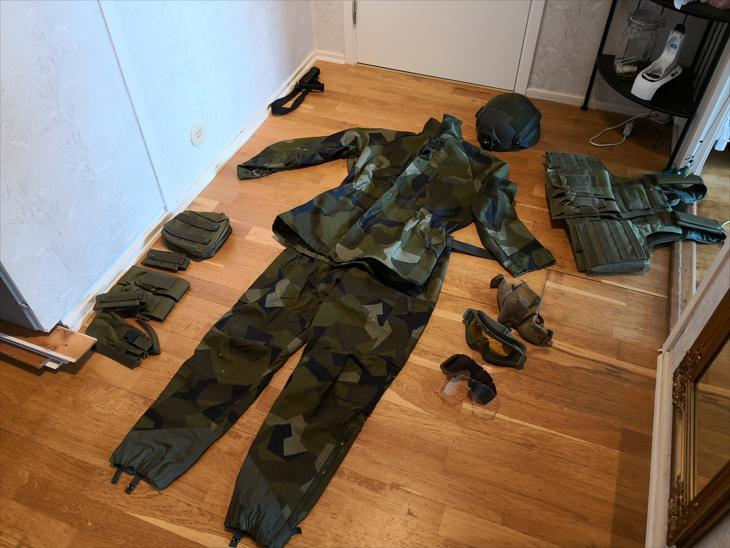 Bild för varan: M90 uniformpaket strlk 180/75