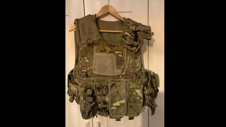 [SOLD] Osprey MKIV Plate Carrier MTP/Multicam