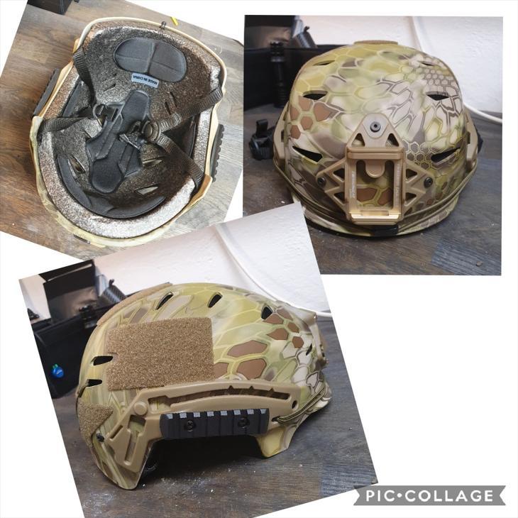 Bild för varan: EXF Bump Helmet Mandrake Camo - kan skickas.