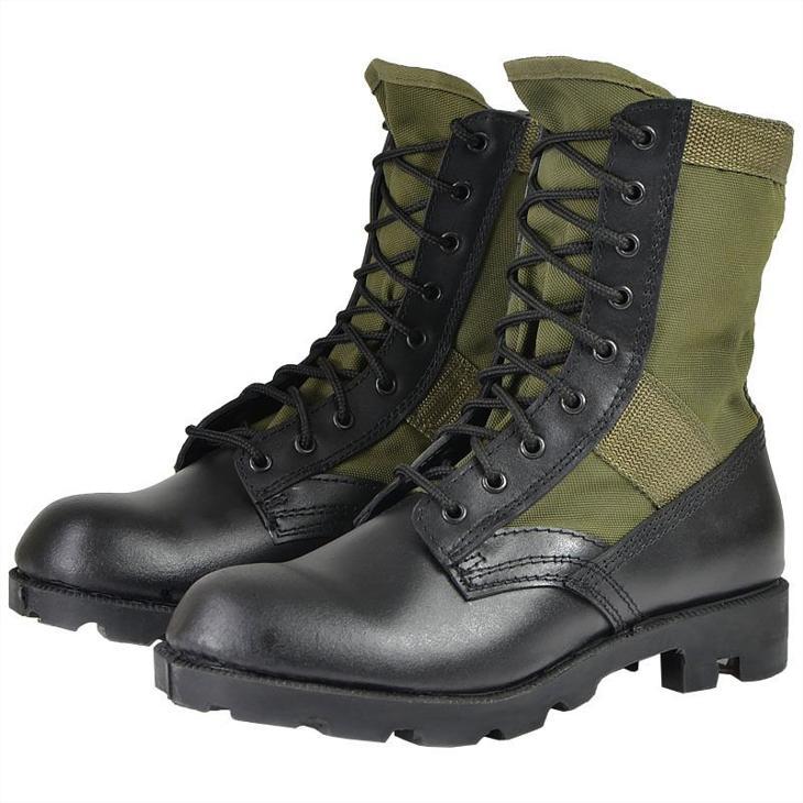 Bild för varan: MilTec Panama Jungle Boots Kängor Green OANVÄNDA