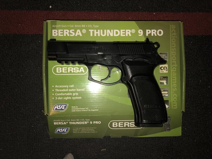 Bild för varan: Bersa Thunder 9 Pro!