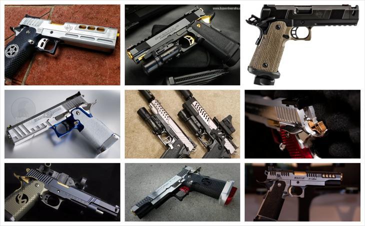 Bild för varan: Meck och specialbyggda Hi-Capa Pistoler