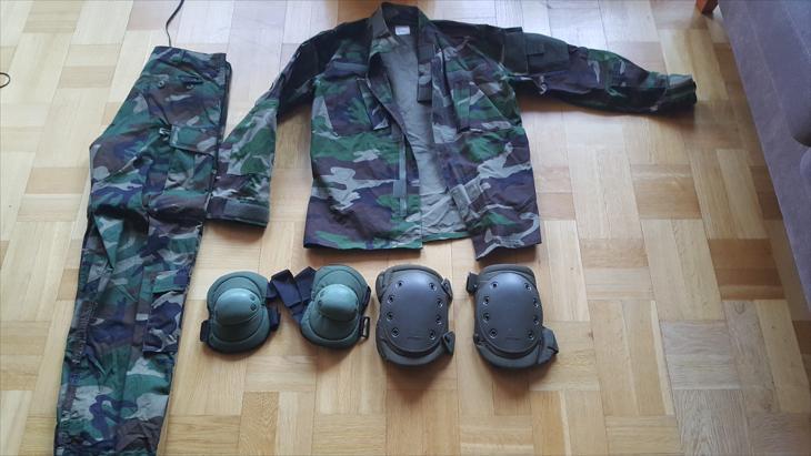 Bild för varan: Camo uniform i storlek M