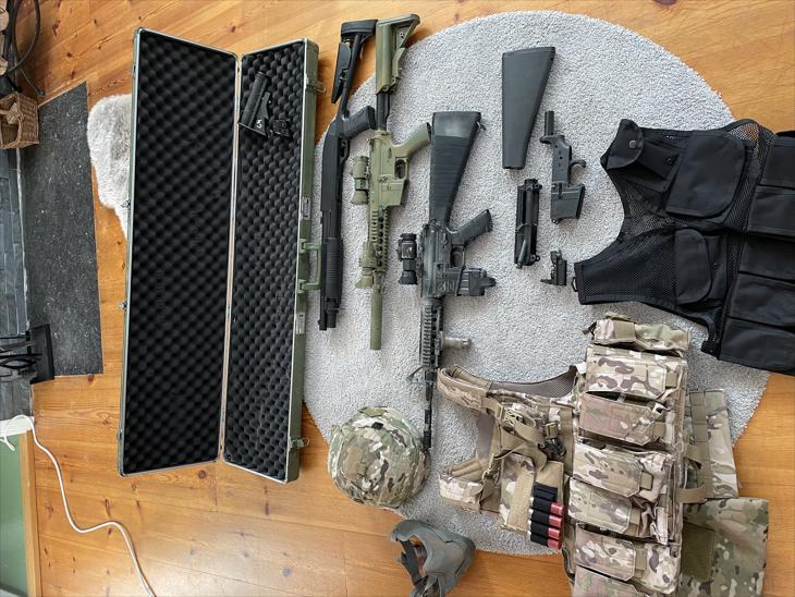 Bild för varan: 2st M4 GG Classic Army