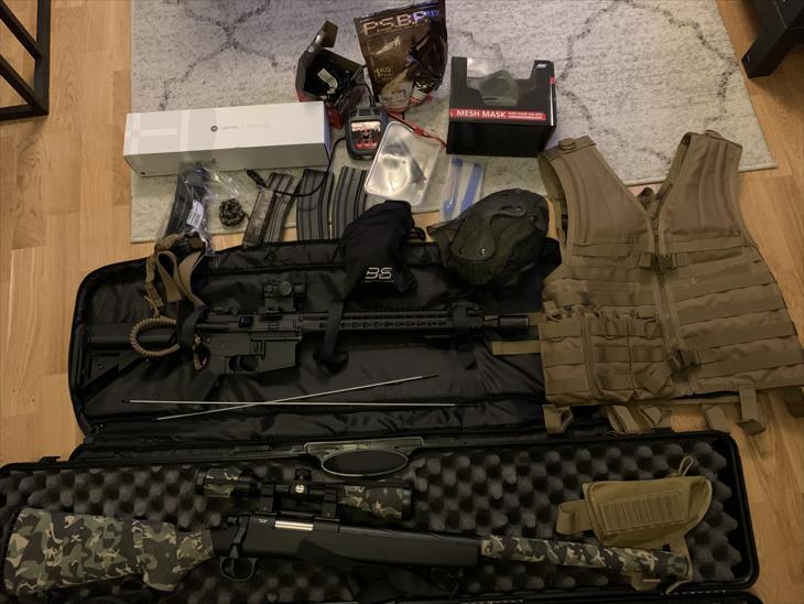 Bild för varan: M4A1 SSG10 med mera