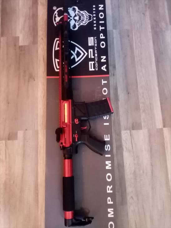 Bild för varan: APS Phantom Extremis Rifles MK4 Silver Edge