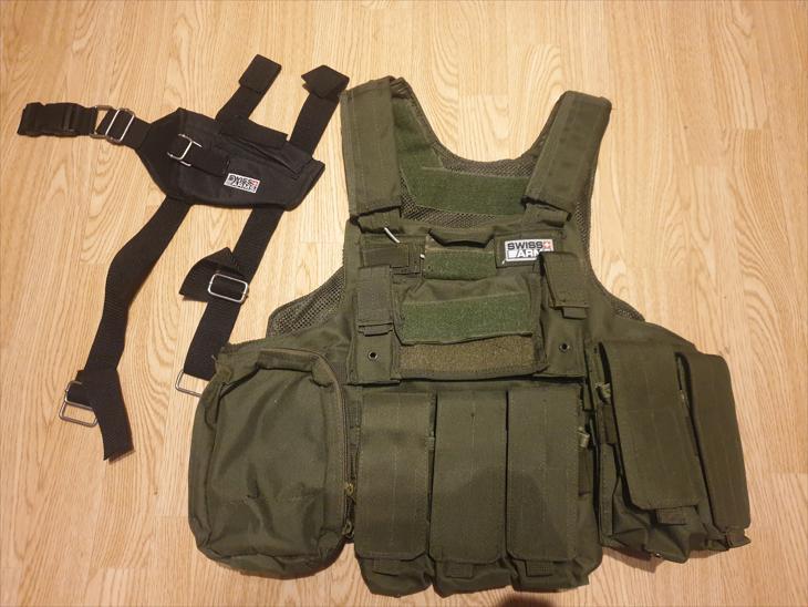 Bild för varan: Swiss Arms ammo väst och benhölster