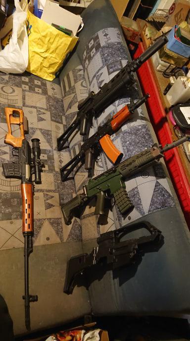 Bild för varan: Säljes! Vapen och Gear