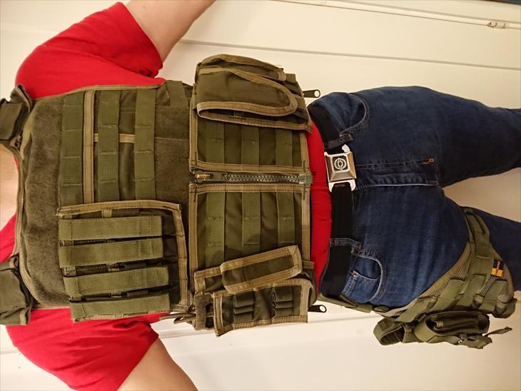 Bild för varan: Skyddsväst och pistolhölster från Guarder Cordura