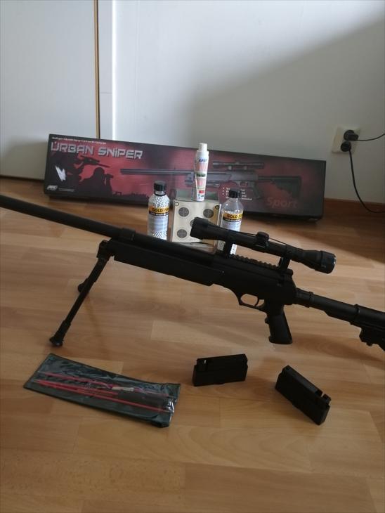 Bild för varan: Urban Sniper med tillbehör