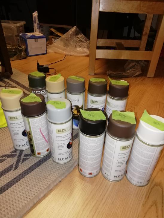 Bild för varan: EC paint spray färg