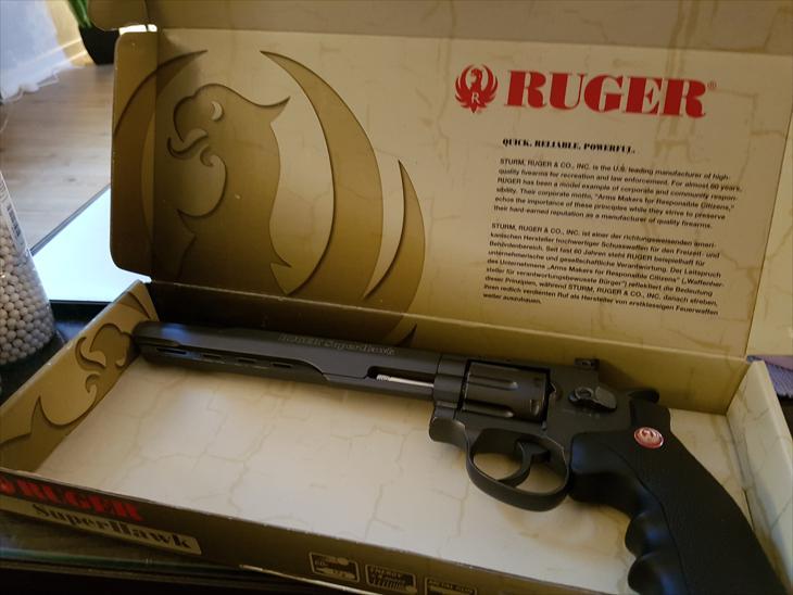 Bild för varan: Ruger SuperHawk Revolver