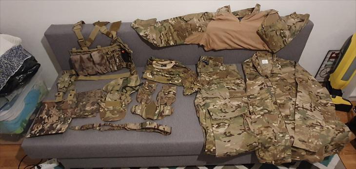 Bild för varan: Multicam Stora storlekar uniform