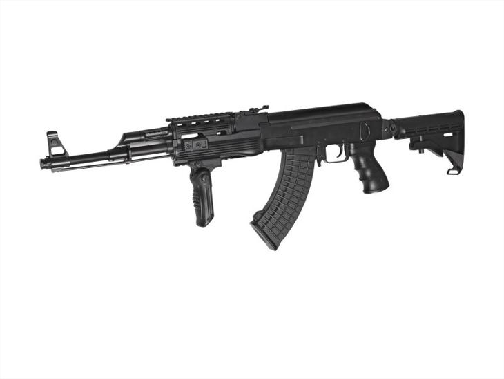 Bild för varan: 2st eldrivna gevär och pistoler Semi auto samt utrustning